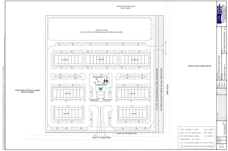 Pretty Pond Site Plan